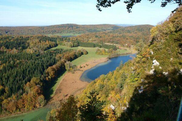 Le Grandvaux et les lacs